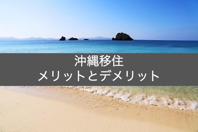 塩田彰沖縄移住のメリット・デメリット
